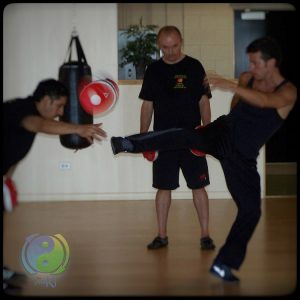 Sifu Andreas relaxed power kick JKD