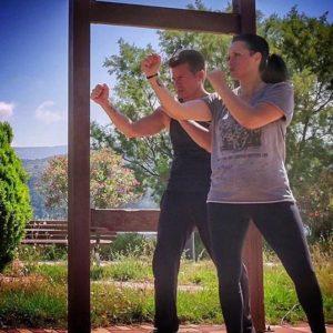 Ki JKD Kefalonia Woman Martial Arts