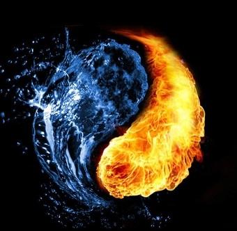 JKD Yin Yang Fire Water