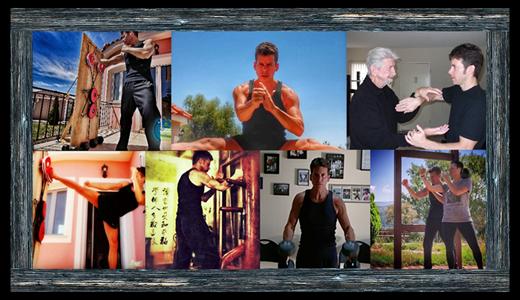 Ki JKD Collage Sifu Andreas Fitness Flexibility Power Energy Agility